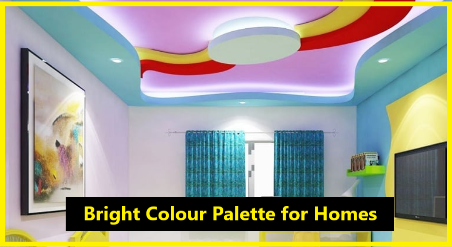 bright Colour palette for homes