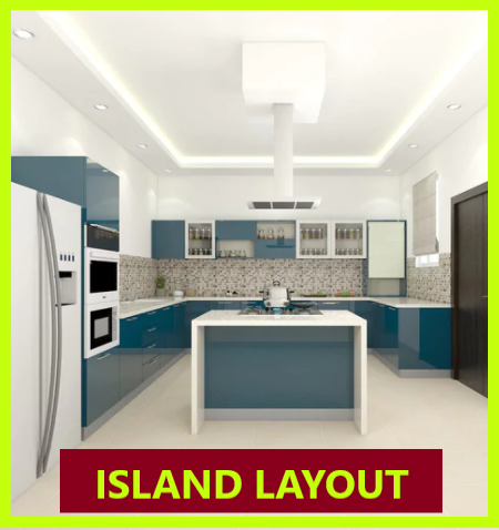 Island Layout kitchen design ideas